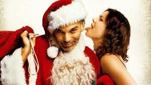 bad santa kiss