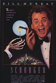 Scrooged Bill Murray