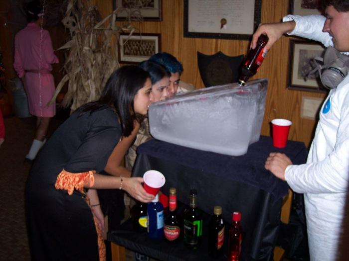halloween-ice-luge