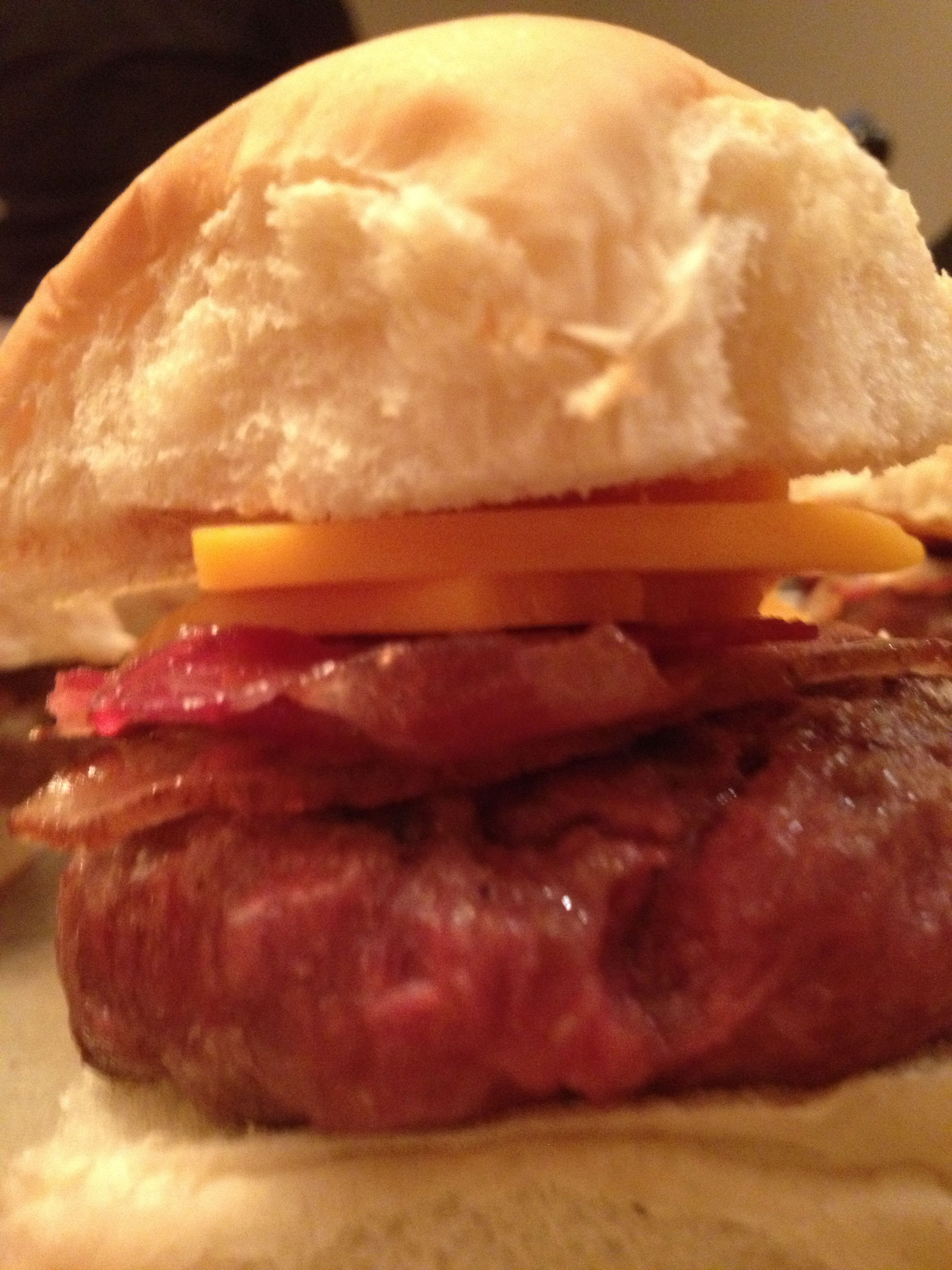 The All-American Bacon-Cheeseburger Slider!