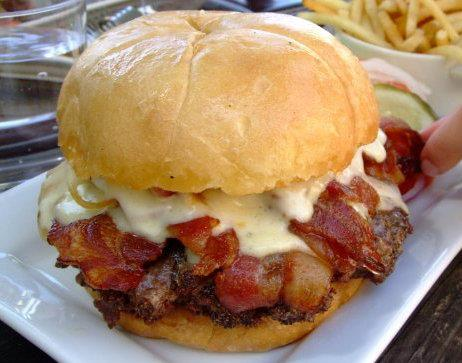 Big Bacon Cheeseburger