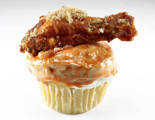 Buffalo Chicken Wing Cupcakes! Recipe For Delicious! | johnrieber