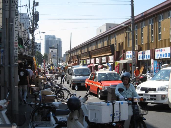 Fish Market Street Scene