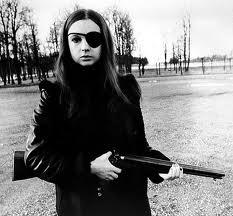 Christina Lindberg armed