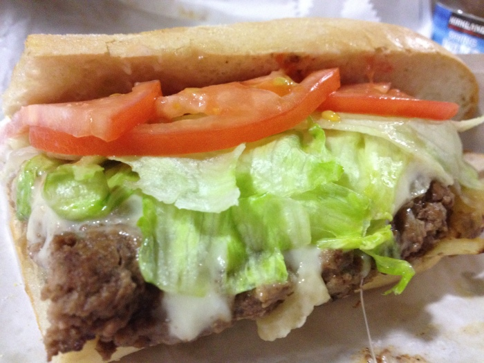 White House Cheeseburger Sub