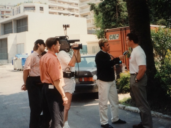 Arnold Schwarzenegger in Cannes