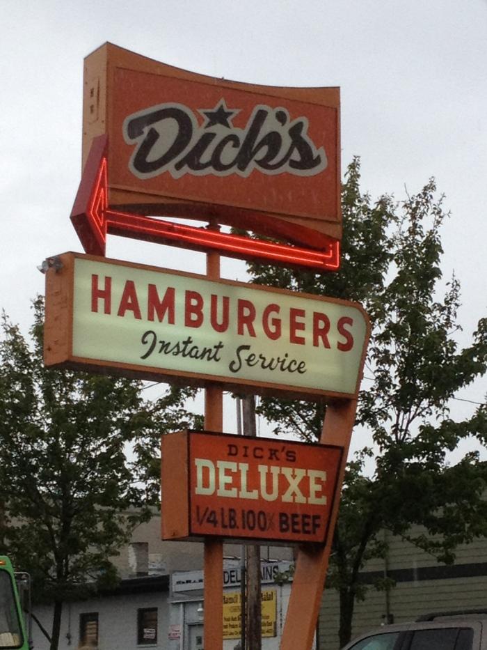 Dicks Sign