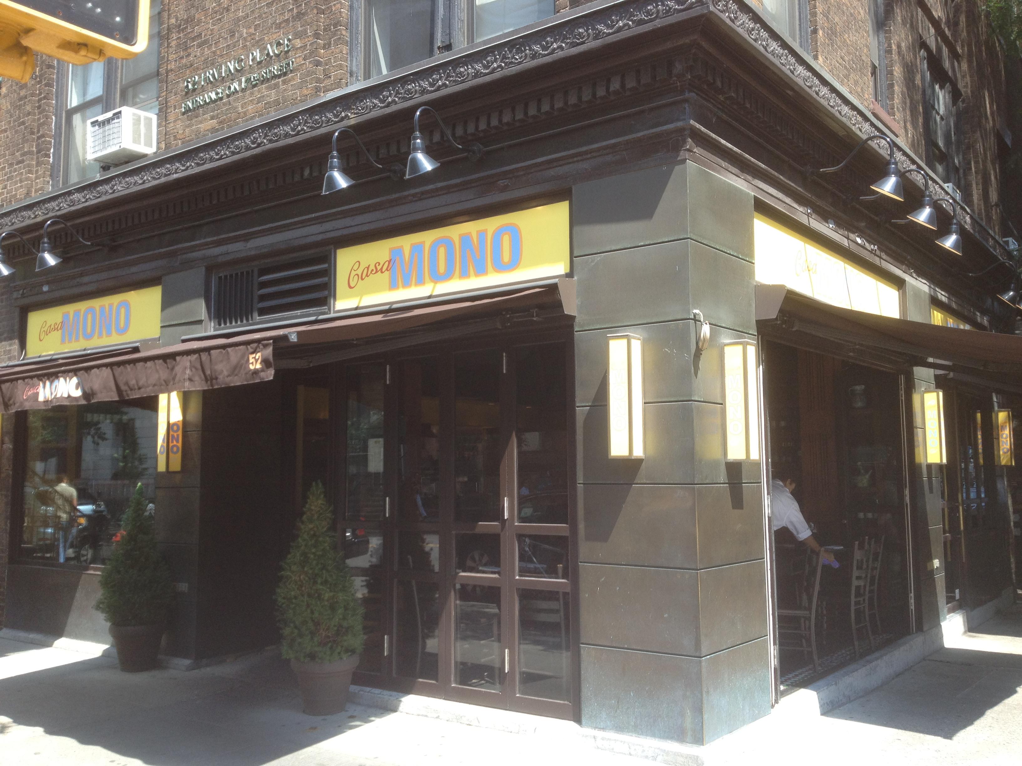 Mario batali you casa mono you yes chef batali rocks - Casa mono restaurante ...