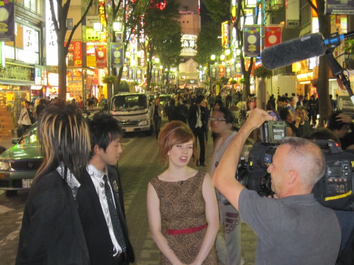 Alex Sim-Wise in Tokyo