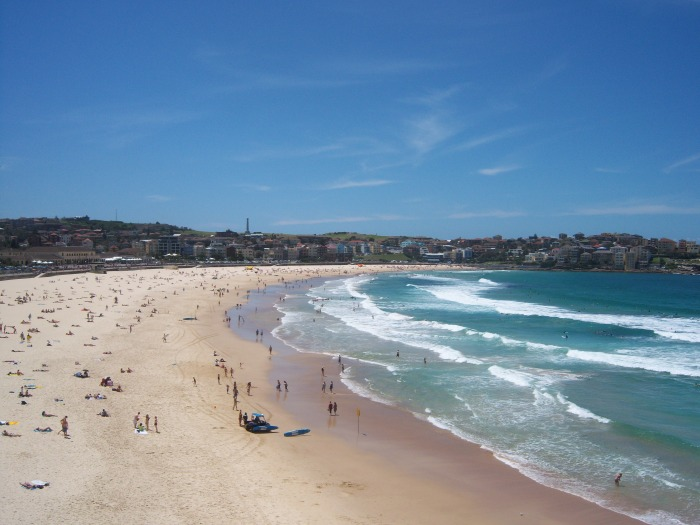 Australia Bondi Beach Sasha Grey