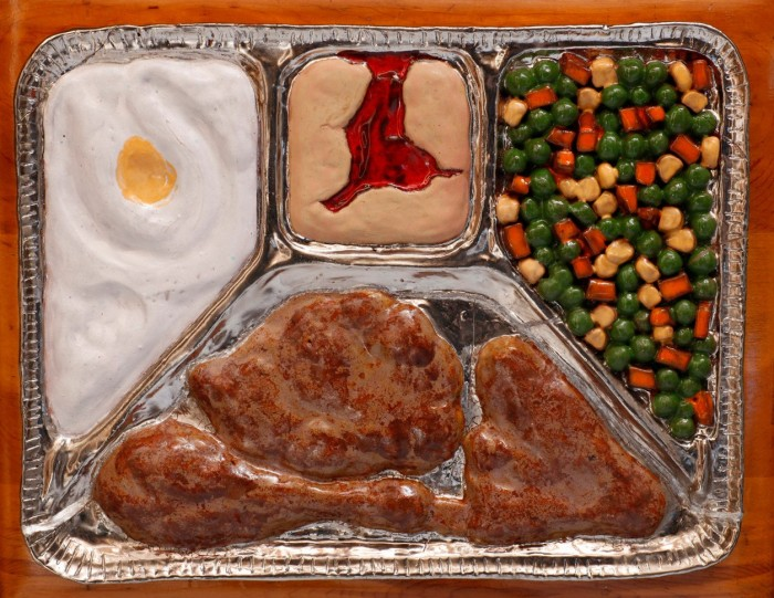 frozen TV dinner
