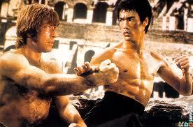 Bruce Lee Chick Norris