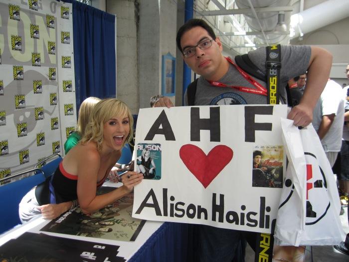 Alison Haislip Comic-Con