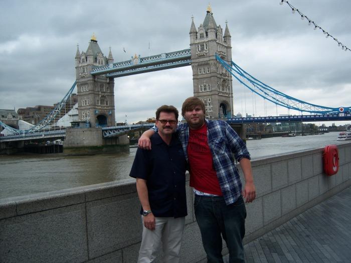 John Rieber and Jeff Rieber Tower bridge