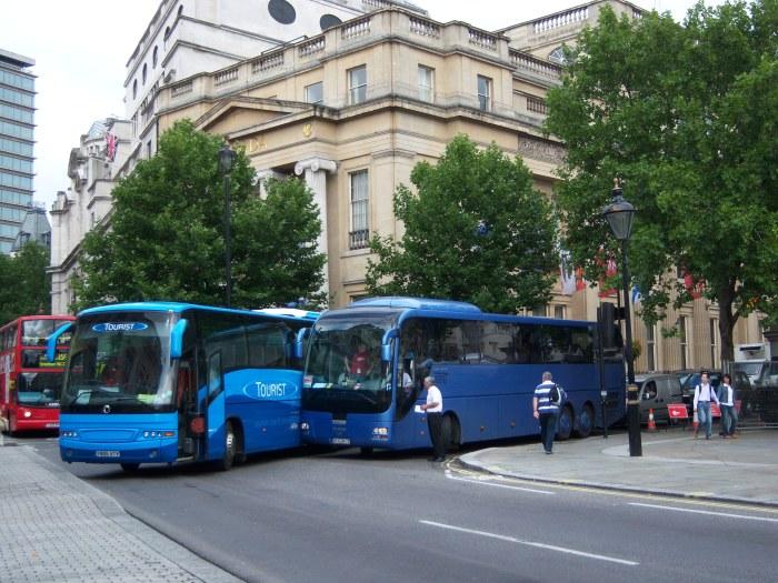 London bus crash
