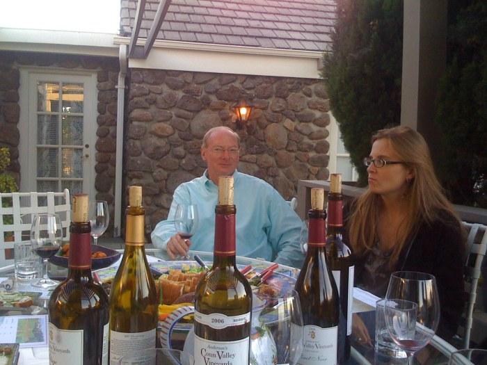 Oak Knoll wine tastings
