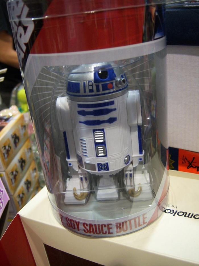 R2D2 soy sauce container