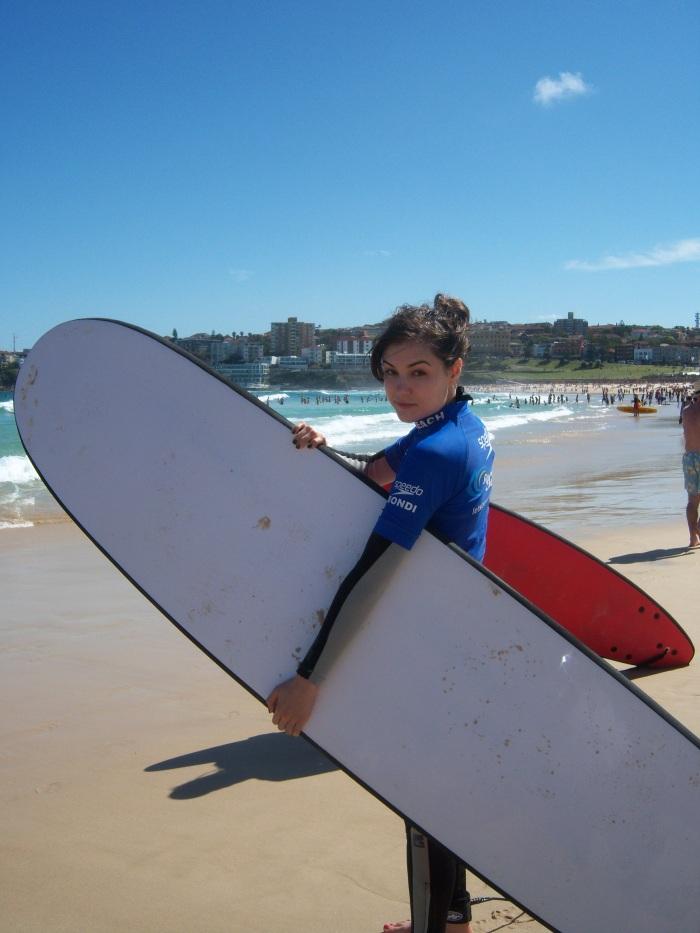 Sasha Grey the Surfer