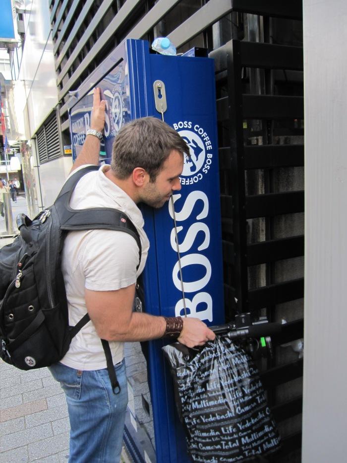 tokyo carrado hugs coffee machine