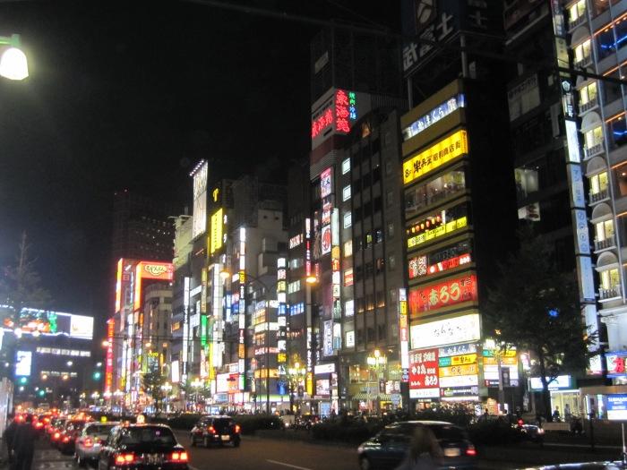 tokyo night lights big lights