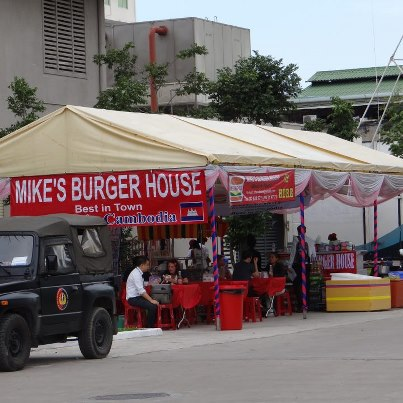 Mike's Burger House Cambodia