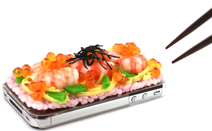 sushi iphone cover