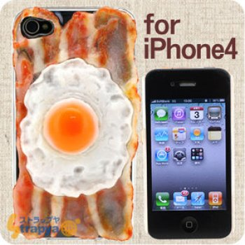 egg-bacon iphone cover