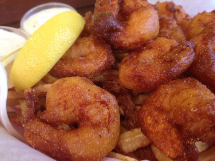 big & little's shrimp and chips