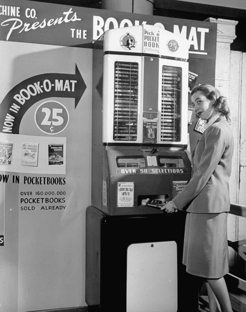 paperback vending machine