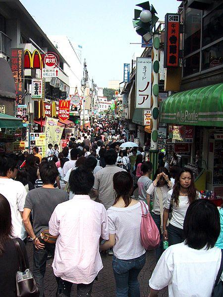 Harajuku street shopping