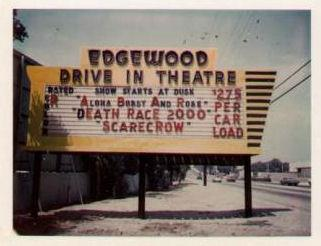 Scarecrow drive-in