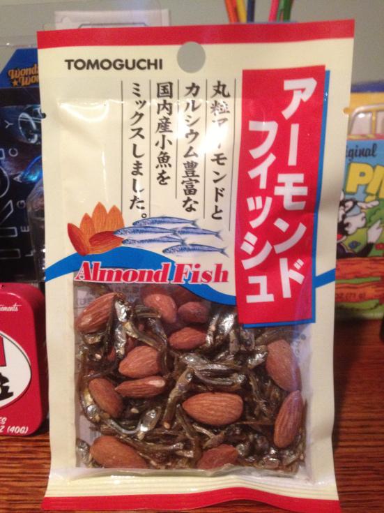 almond-fish