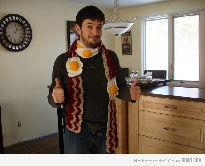 bacon-scarf