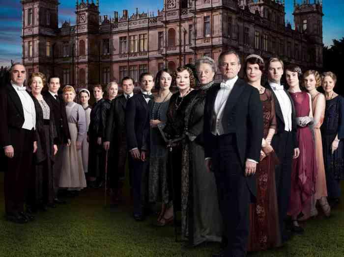 season 6 Downton Abbey cast