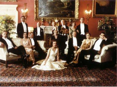 gosford park cast