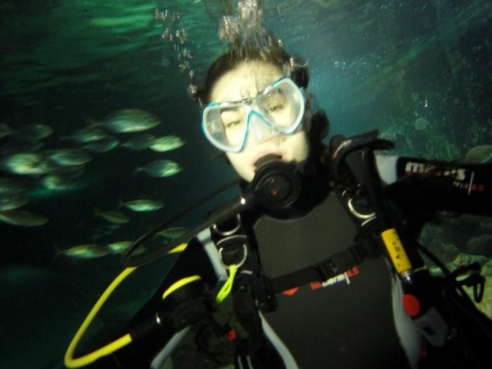 Sasha Grey Underwater