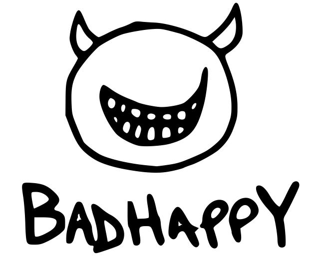 Badhappy poutine logo