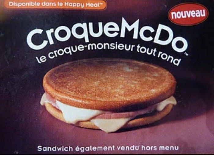 McDonalds CroqueMcDo