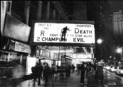 Times Square  42nd street Marquee