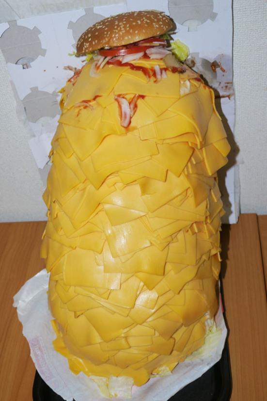 1,000 slice cheeseburger