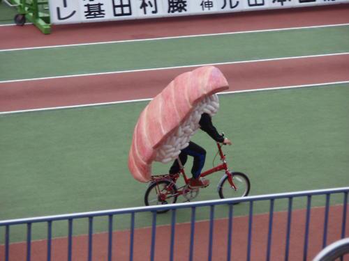 sushi bicyclist
