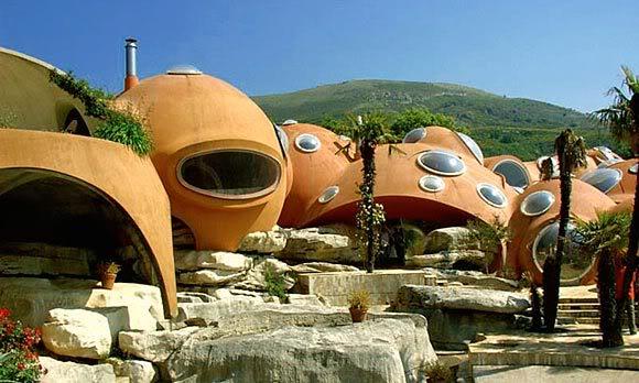 French bubble castle