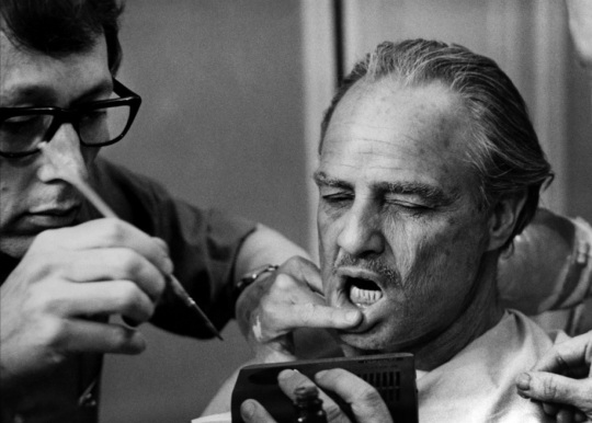 Marlon Brando Godfather makeup