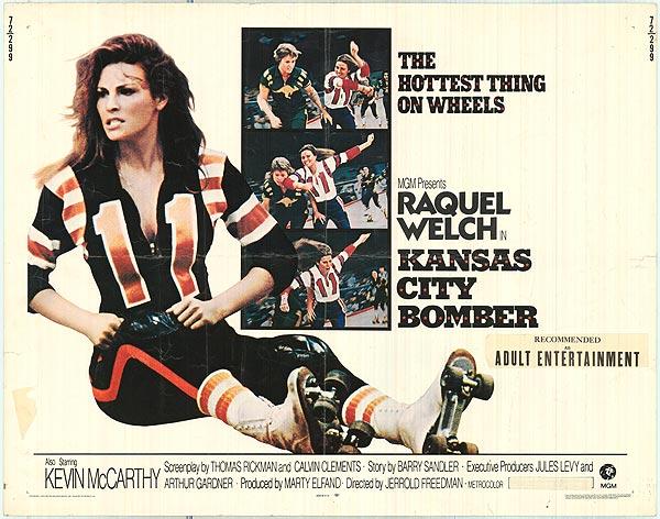 Kansas City Bomber Raquel Welch