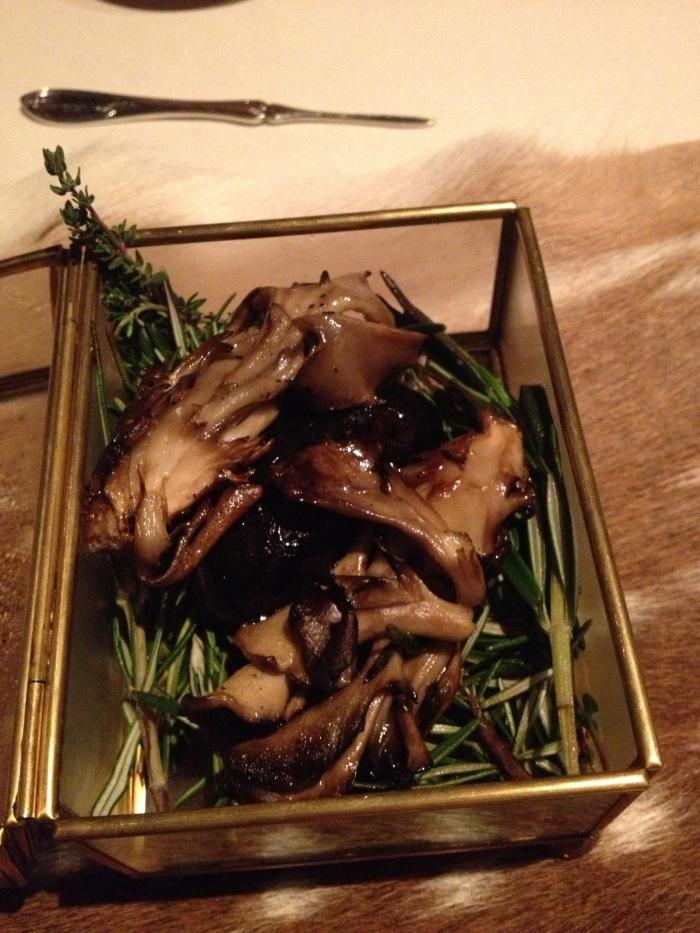 Next restaurant mushrooms