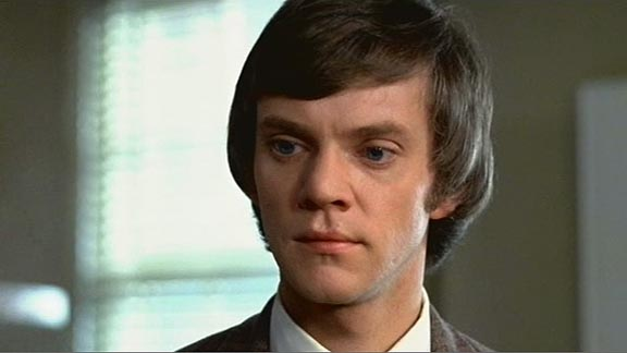 Young Malcolm McDowell