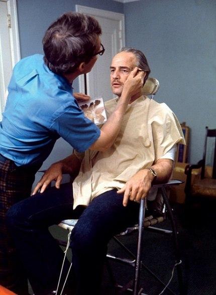 Marlon Brando The Godfather Makeup