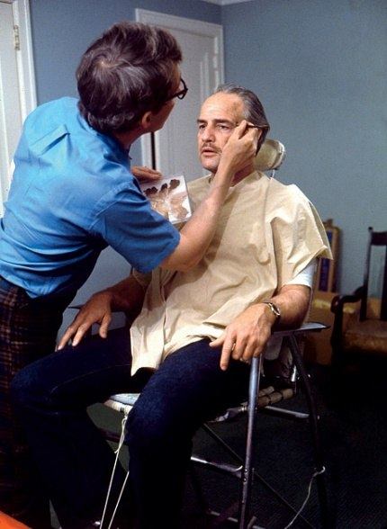 Marlon Brando The Godfather Makeup