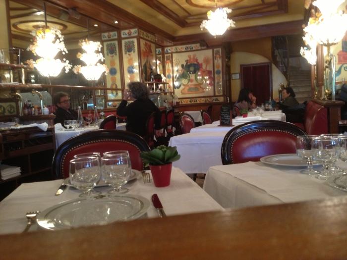 Au Pied de Cochon restaurant Paris