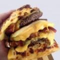 Bread Bacon Cheeseburger